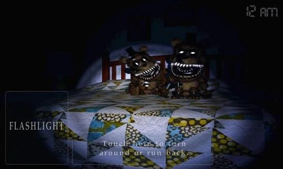 恐怖玩具熊4万圣节版