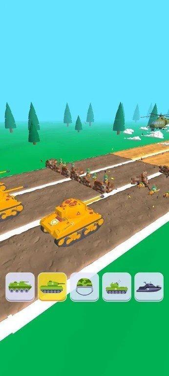 坦克射击对决