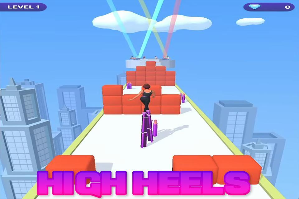 高跟鞋疾跑3D