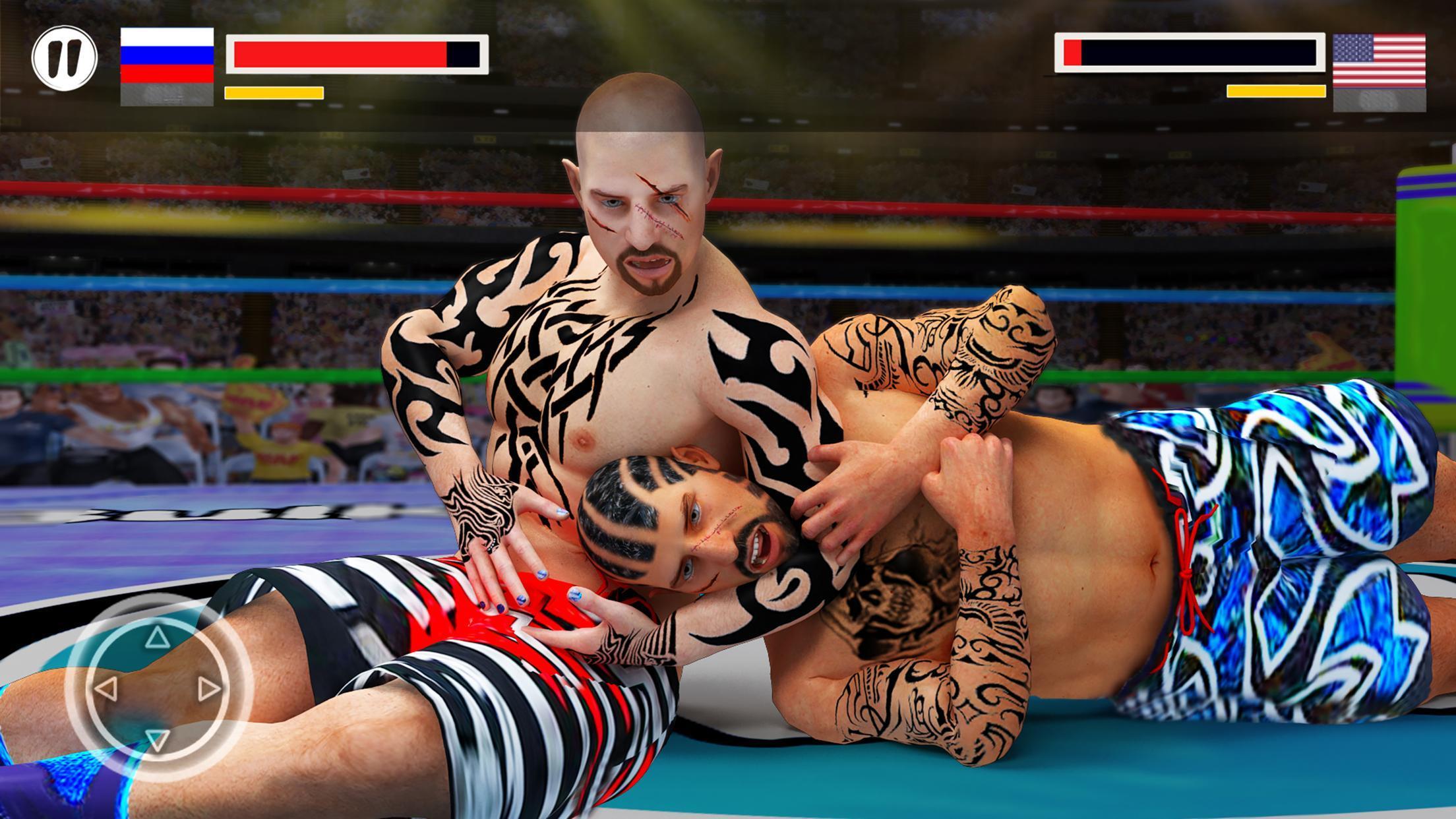 离线摔跤比赛