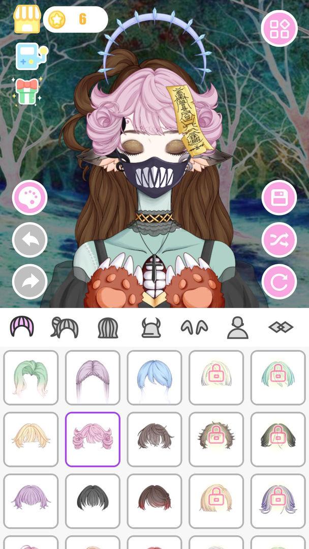 怪物女孩换装平台