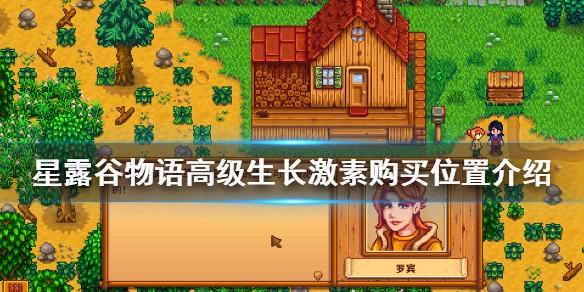 星露谷物语高级生长激素哪里买